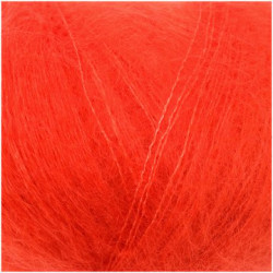 E. Superkid Mohair & Soie - Orange sanguine 020