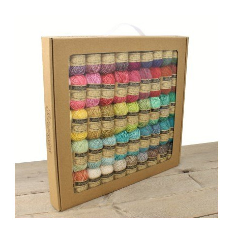 Colour Pack 50 pelotes River Washed & Stone Washed