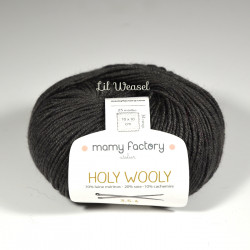 Holy Wooly - Gris Anthracite 12982