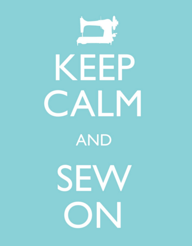 Keep Calm and Sew