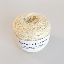 Merino Lace Single - Natural
