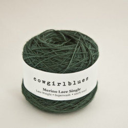 Merino Lace Single - Rainforest