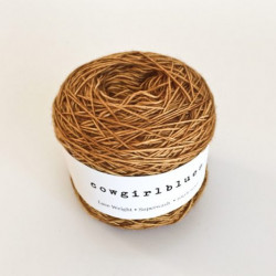 Merino Lace Single - Rust