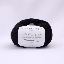 Holy Woolly - Noir 10008