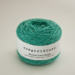 Merino Lace Single - Celadon