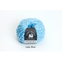 Merino n°5 - LADY BLUE