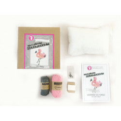 Kit crochet - Flamand rose