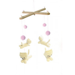 Kit crochet - Mobile chatons
