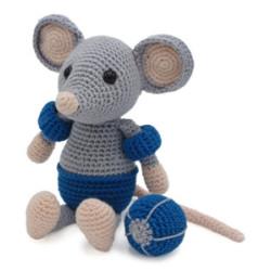 Kit crochet - Eddy la souris