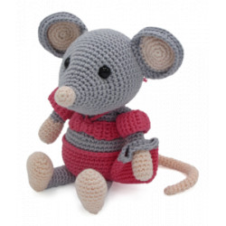 Kit crochet - Daisy la souris
