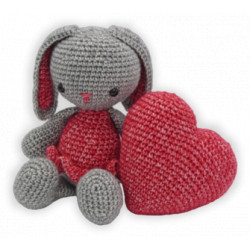 Kit crochet - Pippa lapin