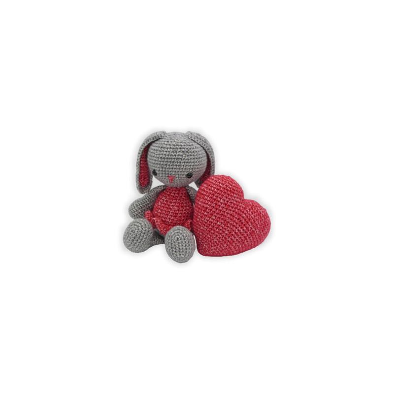 Kit crochet - Pippa lapin