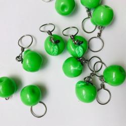 Anneaux marqueurs - pomme verte