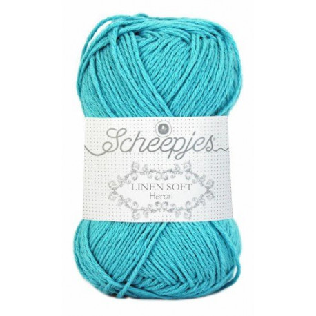 LINEN SOFT 614 TURQUOISE