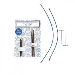 "Twist Short Combo Bleu 3.5 au 5mm en 2"" & 3"""