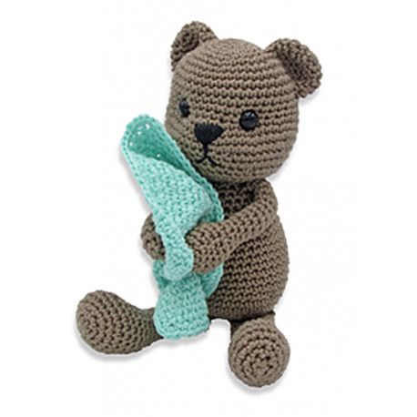 KIT CROCHET TIBBE L'OURS