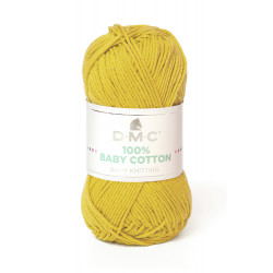 100% BABY COTTON JAUNE 771