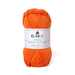 100% BABY COTTON ORANGE 753
