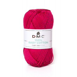 100% BABY COTTON FUCHSIA 755