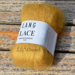 LANG LACE MOUTARDE 50