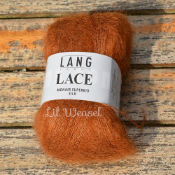 LANG LACE ORANGE BRULEE 15