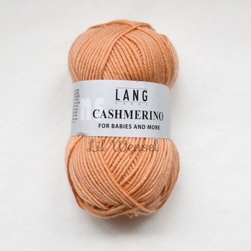LANG CASHMERINO MELON 30