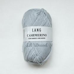 LANG CASHMERINO BLEU LAYETTE 23