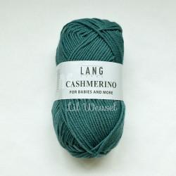 LANG CASHMERINO VERT DE GRIS 74