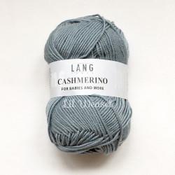 LANG CASHMERINO BLEU GRIS 24