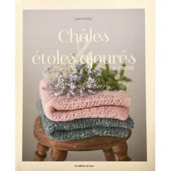 Châles et étoles ajourées au tricot