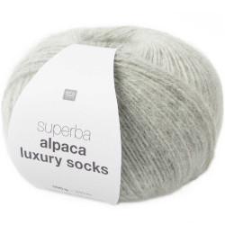 ALPACA LUXURY SOCKS GRIS SILVER 004