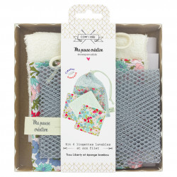 KIT 6 LINGETTES LIBERTY POPPY & DAISY