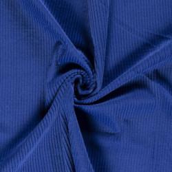 Velours grosses côtes Cobalt