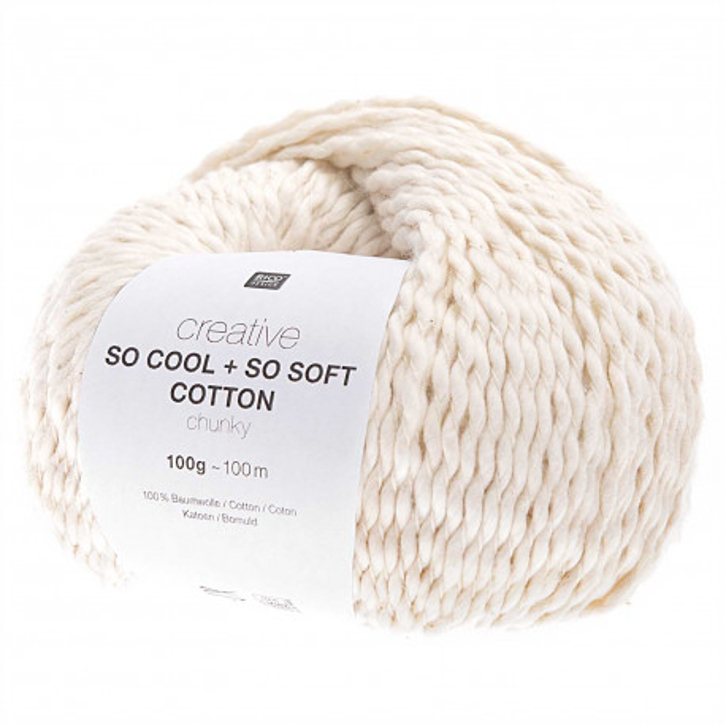 SO COOL & SO SOFT COTTON 01 ECRU