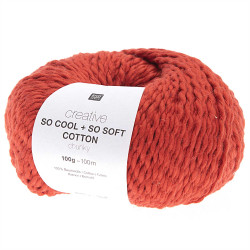 SO COOL & SO SOFT COTTON 06 ROUGE