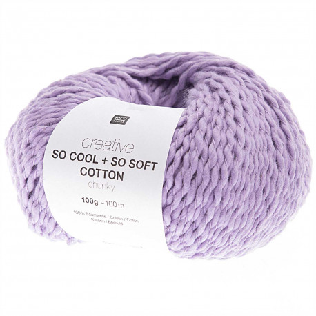 SO COOL & SO SOFT COTTON 07 MAUVE