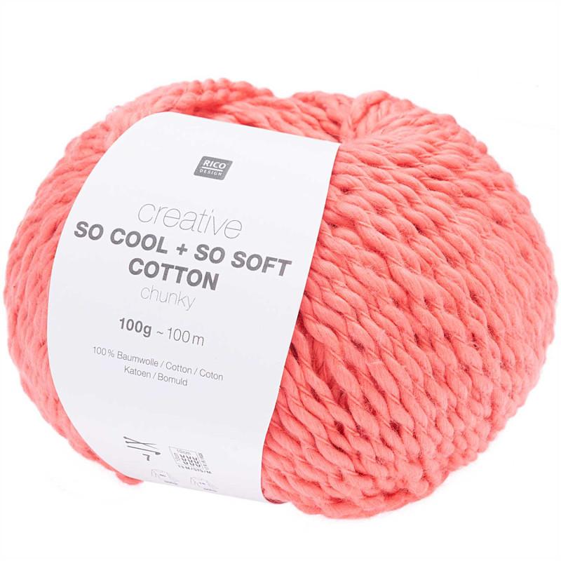 SO COOL & SO SOFT COTTON 017 PASTEQUE