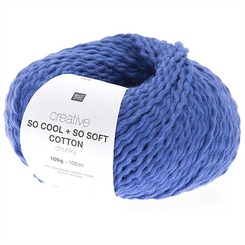 SO COOL & SO SOFT COTTON 09 BLEU