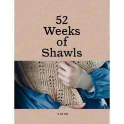 Précommande 52 Weeks Of Shawls - Laine Magazine
