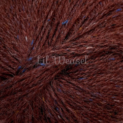 FELTED TWEED BARN RED 196